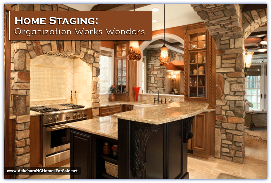 Staged kitchen in Asheboro NC Home | Waynette Araj, Asheboro Realtor